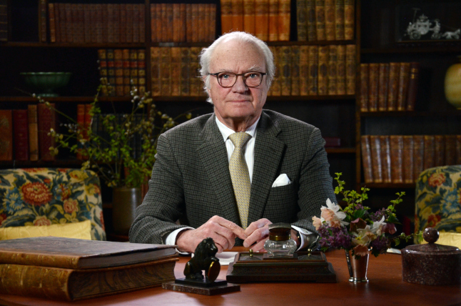 King Carl XVI Gustaf's address to the nation : You are not alone.